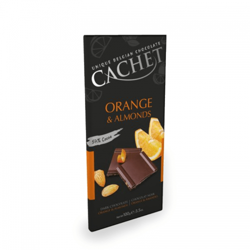 Cachet orange & almonds