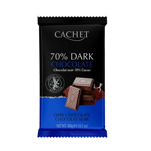 chocolate cachet dark 70% cooking