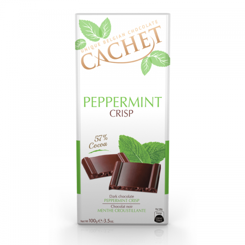 chocolate cachet dark peppermint crisp