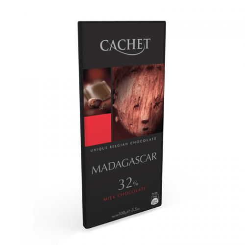 chocolate cachet milk 32% madagascar