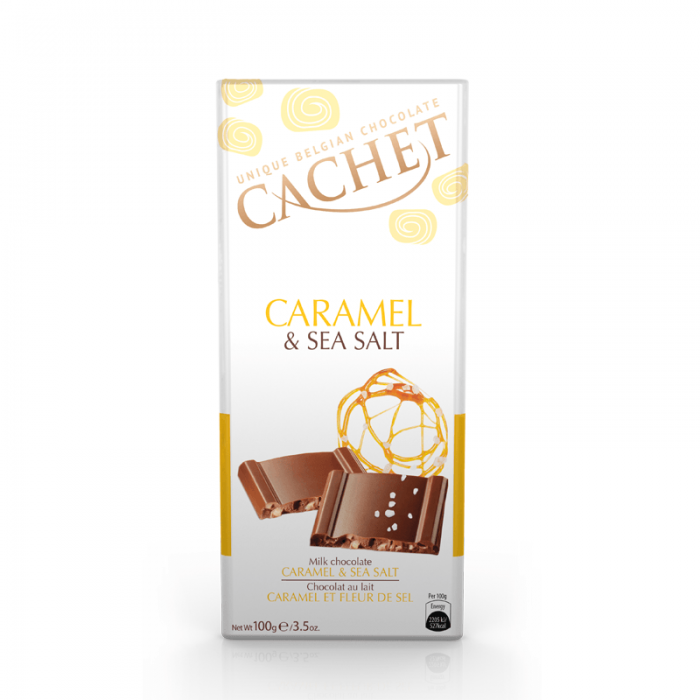 chocolate cachet milk caramel & sea salt