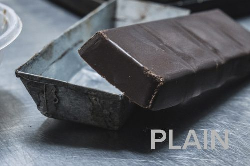 Plain chocolate