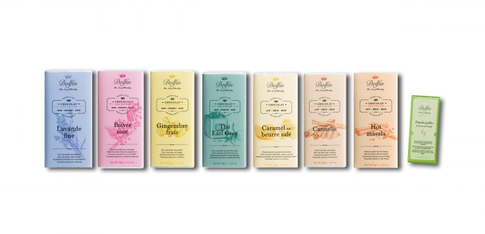 chocolate dolfin mysterious flavours 7 - pack