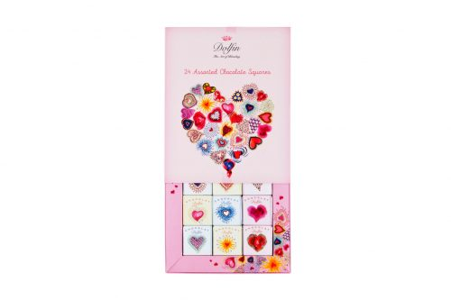 chocolate dolfin gourmet squares 24 =LOVE =