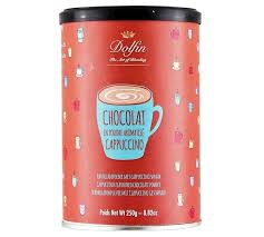 chocolate dolfin cappuccino hot chocolate drink