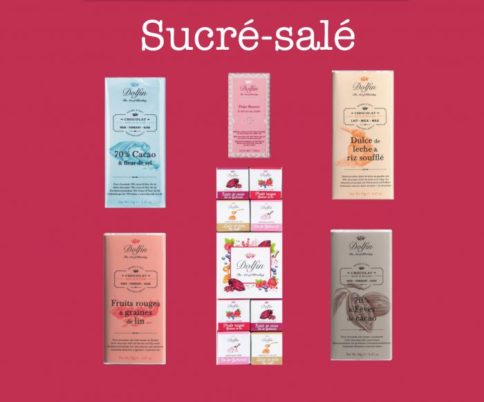 Chocolate Dolfin sucre-sale collection